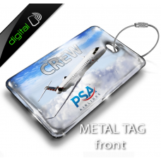 PSA Airlines Bombardier CRJ 900 Bag Tag - Digital