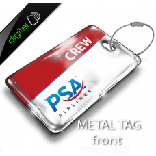 PSA Airlines Logo Bag Tag - Digital