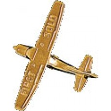 GOLD/CESSNA 1ST SOLO 3D/PIN
