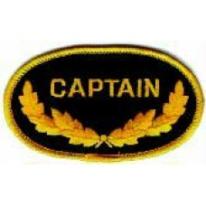 PATCH/CAPTAIN/OVAL
