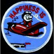 PATCH/HAPPINESS IS FLYING