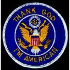 PATCH/THANK GOD I'M AMERICAN