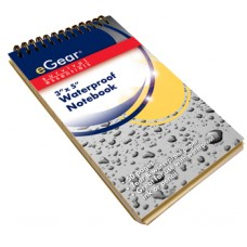 WATERPROOF NOTEBOOK/3X5/PENCIL INCLUDED