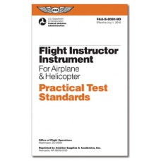 PRACTICAL TEST STANDARDS/FLIGHT INSTRUCTOR INSTRUMENT AIRPLANE & HELICOPTER