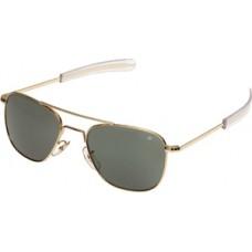 SUNGLASSES/Original pilot, gold frames, gray lenses, bayonet temples, 52mm.