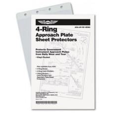4-RING SHEET PROTECTORS/10 PACK