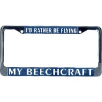LICENSE FRAME/IRBF BEECH