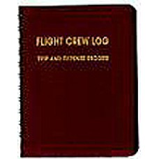 FLIGHT CREW LOG 3.47/Maroon, trip and expense record. (Pilot logbook)