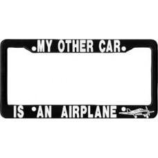 LICENSE FRAME/MY OTHER CAR