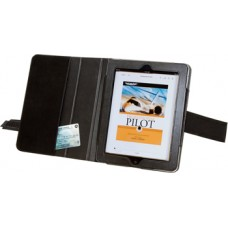 "IPAD PORTFOLIO KNEEBOARD WITH COVER/Compatible with: iPad, iPad 2, iPad 3. Measurements: 9-11/16"" x 7-15/16"" closed and 15-15/16"" open."