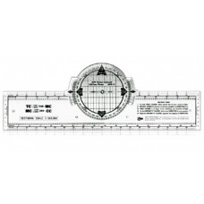 "13"" AZIMUTH COMPASS ROSE NAVIGATION PLOTTER"