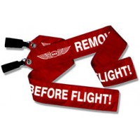 """PITOT TUBE COVER 5/8""""/Remove Before Flight, small. For use with CESSNA 300 and 400 series, Mitsubishi, Lear Jet, Cirrus, Piper Navajo, Cheyenne, Mooney, Citation, Conquest, Beech sgl/twin."""