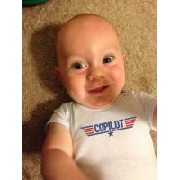 Maverick Infant Baby COPILOT Onesie